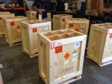 Anubis Micro Munitions Plywood Box, UN Packaging Group 1