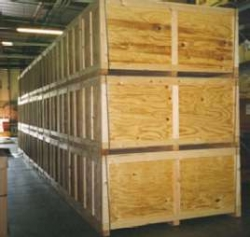 Household Goods Shipping Crate