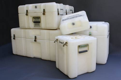 Reusable Rotationally Molded Cases